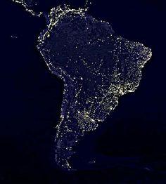 Imágenes nocturnas satelitales - Bing Imágenes