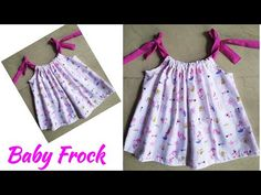 Baby Frock Cutting And Stitching|Designer Baby Frock Cutting And stitching|Baby Frock Designs - YouTube Baby Frocks Designs, Baby Dress Patterns, Kids Frocks, Frock Design, Baby Dresses, Summer Dresses, Baby Design, Designer Baby, Stitching