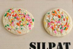 This Funfetti Cookie recipe is tasty and chewy... and involves sprinkles! Oh yes. Read on now.