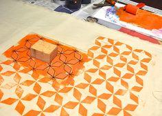 flowerpress: foam block printing tutorial