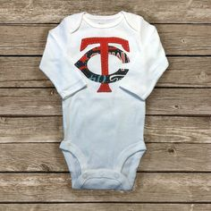 Hey, I found this really awesome Etsy listing at https://www.etsy.com/listing/119998509/mn-twins-baby-onesie
