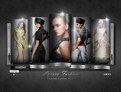 Fashion Company website template