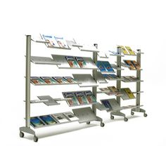 V. Dolmen Modular Shelving and Adjustable Racking (NB.this is larger unit, for design ref only. Have provided price for 25 facings only)