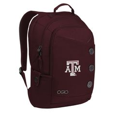 TEXAS A&M MAROON SOHO LAPTOP BACKPACK | COLLEGE DEPOT