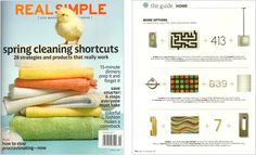 Real Simple - Decorate Your Way, April 2011