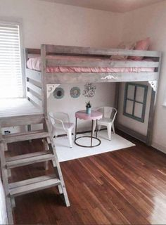 DIY Loft Bed...these are the BEST Bunk Bed Ideas!