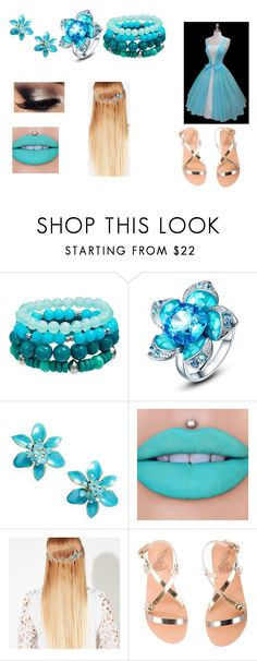 """""""yep 2"""" by linsey-tracey ❤ liked on Polyvore featuring Kate Spade, Jeffree Star, John Lewis and Ancient Greek Sandals"""