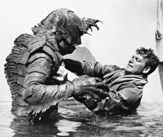 Creature from the Black Lagoon, 1954.
