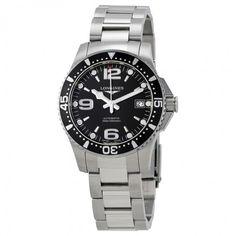 Longines HydroConquest Automatic Black Dial Men's Watch L3.741.4.56.6