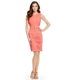 4a18fc52fe Shop for Antonio Melani Tinsley Lace Crepe Dress at Dillards.com. Visit  Dillards.