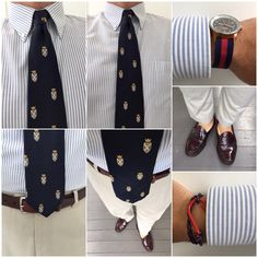 #WIWT crest me for the last day of work for 2014. Looking forward to vacation time. #prepdom #preppy #ootd #weejuns