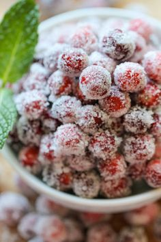 Best Recipes, #12 Sugared Cranberries