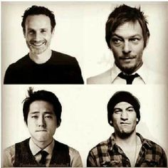 The men of The Walking Dead
