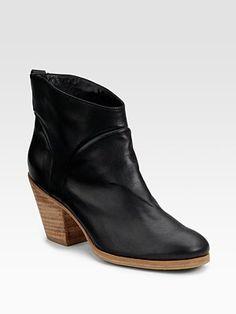 penpal leather ankle boots ++ rachel comey