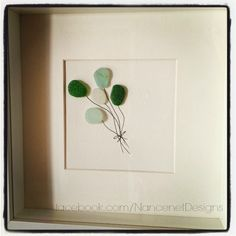 Sea Glass Art - Balloons facebook.com/NancenetDesigns