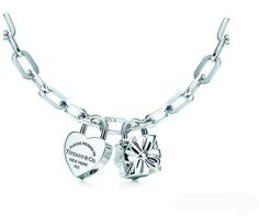 586465545606 Tiffany Necklaces Jewelry Silver Heart Flower Lock Necklace This Tiffany  Jewelry Product Features  Category  Tiffany   Co Necklaces Material   Sterling ...