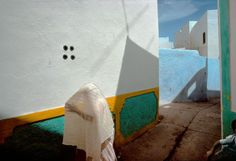 Harry Gruyaert MOROCCO. Asilah. In the Casbah (old district of the city). 1976.