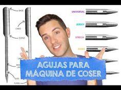 TIPOS DE AGUJA PARA MÁQUINA DE COSER - Aprender a Coser