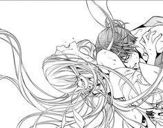 Bishamon and Kazuma // Noragami Holy shi-- 😍 *nosebleed* Romantic Anime Couples, Romantic Manga, Anime Couples Manga, Anime Couples Sleeping, Manga Anime, Manga Art, Cute Couple Art, Anime Love Couple, Bishamonten Noragami