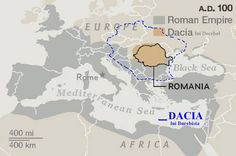 Map of the extents of Roman Empire and Dacia Ancient Ruins, Ancient Rome, Trajan's Column, Danube River, Map Design, Picts, Roman Empire, National Geographic, Romania