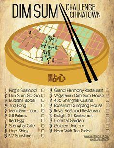 The NYC Chinatown #DimSumChallenge