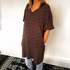 Lovely tunic dresses, worn here with jeans but also great with gladiators and a tan. Www.lisa-taylor.co.uk