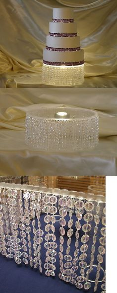 Wedding Cake Stands and Plates 102424: Cake Stand 7-Pc Square ...