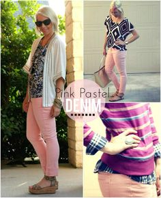 the MRS. & the MOMMA: Pretty in Pink Pastel - PINK PANTS!!