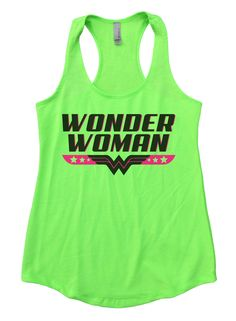 """Wonder Woman""í«ÌÎ_ Awesome very high quality Flowy Tank Top. Workout in class, very soft material. Super lightweight around 5 ounces and very soft. They fit true to size and a little thicker then our"