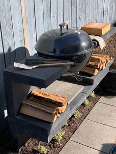 U-elementen kopen   Betondingen Nederland Outdoor Kitchen Bars, Rooftop Terrace, Charcoal Grill, Barbecue, Woodworking, Outdoor Decor, Gardening, Home Decor, Furniture