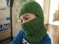 i had a hard time finding a kid sized balaclava, so i hacked up Ellen M. Silva's version….and here it is!