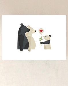 ilustración de tres osos                                                       …