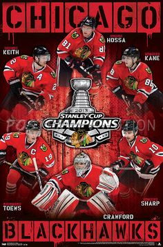 Chicago Blackhawks Stanley Cup 2013 | Chicago Blackhawks 2013 Stanley Cup Champions NHL Sports Poster ...I NEED THIS NOW!!!!!!!!!!!