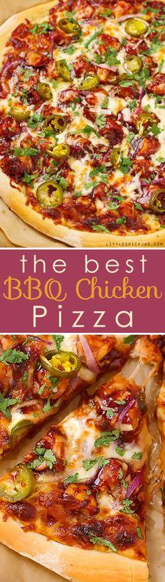 BBQ Chicken Pizza -