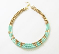 Items I Love by Corinne on Etsy Jewelry Supplies, Jewelry Ideas, Diy Jewelry, Handmade Jewelry, Jewelry Design, Turquoise Jewellery, Turquoise Bracelet, Mint Color, Mint Green