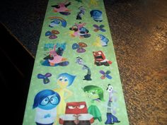 Free: Inside Out Stickers - Stickers Inside Out, Auction, Kids Rugs, Stickers, Disney, Free, Home Decor, Decoration Home, Kid Friendly Rugs