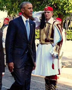 Obama in Athens 2016