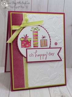 Stampin' Up! Happiest of Days for the Happy Inkin' Thursday Blog Hop
