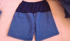 NICE! New Addition Maternity Denim Shorts!. Sz 14 - EUC!