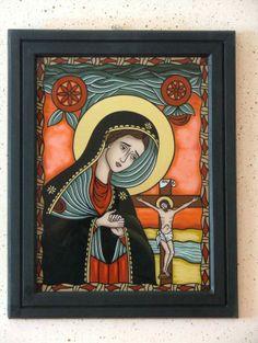 Religious Images, Religious Icons, Religious Art, New Mexico Style, Jesus Christ Images, Catholic Books, Biblical Art, Armor Of God, Art Icon