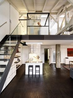 Loft in Zurich, Switzerland, by Daniele Claudio Taddei