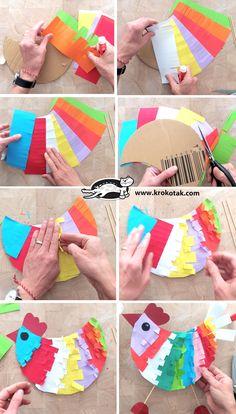 children activities, more than 2000 coloring pages Animal Crafts For Kids, Easter Crafts For Kids, Art For Kids, Kindergarten Art, Preschool Crafts, Fox Crafts, Craft Activities, Children Activities, Art N Craft