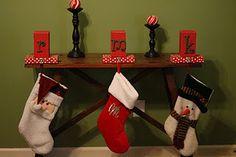 Karen's stocking holders