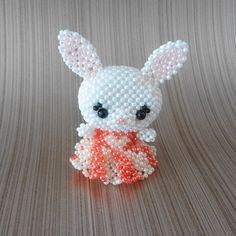 Conejo de abalorios en miniatura