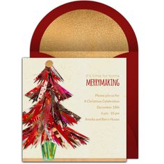 "Check out this free ""Christmas Tree Collage"" invitation design. Fun, online invitation that you can personalize and send via email. It's perfect for a Christmas party. Free Party Invitations, Free Invitation Templates, Christmas Party Invitations, Online Invitations, Invitation Design, Invites, Christmas Party Themes, Christmas Events, Christmas Diy"