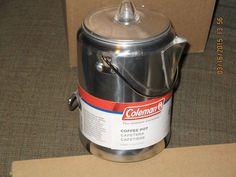 Coleman 2000008088 9 Cups Percolator - Aluminium #Coleman