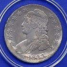 Bust Silver Coin - 1833 Capped Bust Silver Half Dollar Rare Key Date Higher Grade US Mint Coin http://www.goldcoinsandbarsonline.com/bust-silver-coin/#