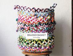 MAY DIYS – Braided Basket