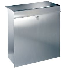 Knobloch Mailboxes: LA Stainless Steel Mailbox Prestige Collection Modern Mailbox