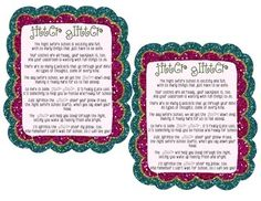 Exhilarating image inside jitter glitter poem printable